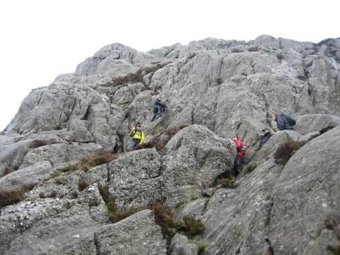 Tryfan North Ridge - scrambling fun