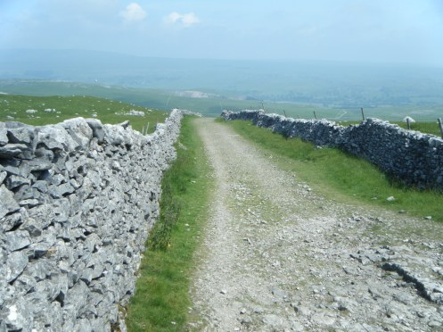 Mastiles Lane towards Kilnsey.