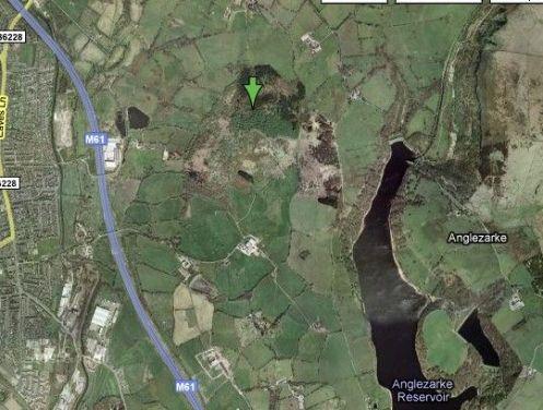 Healey Nab on Google Maps