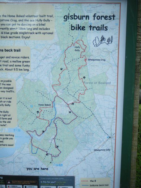 Map at trailhead.