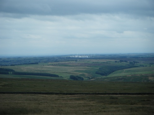 RAF Menwith Hill from Pock Stones Moor.