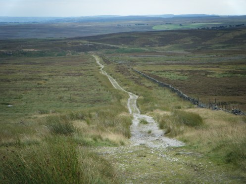 Moorland stuff - descent from Pock Stones Moor.
